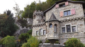An unusual residence, a castle